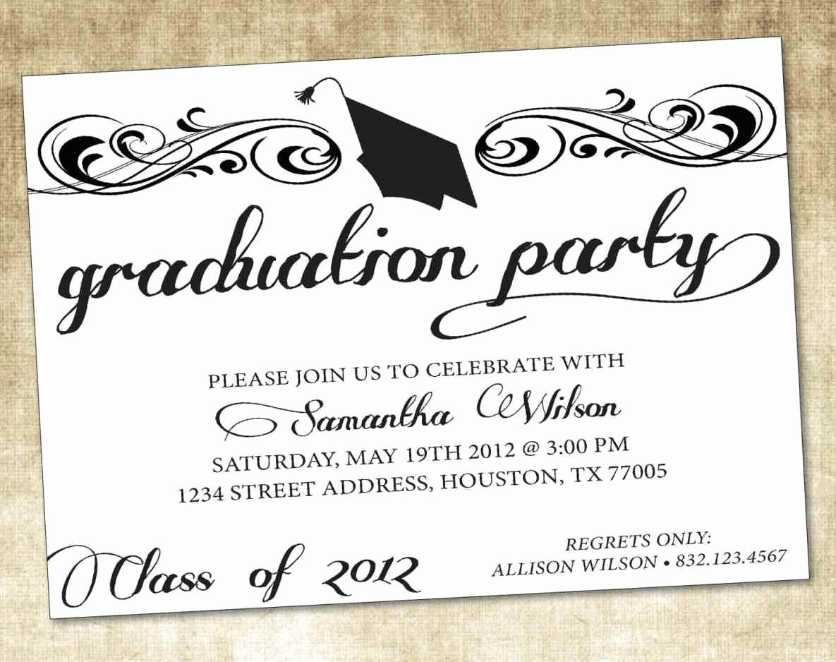 Free Printable Graduation Announcement Templates Awesome Free Printable Graduation Announcement Templates