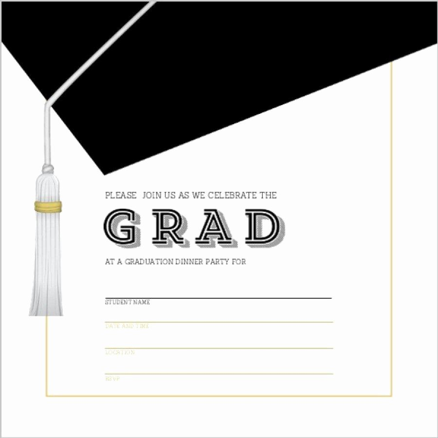 Free Printable Graduation Announcement Templates Best Of Graduation Invitation Templates Graduation Invitation