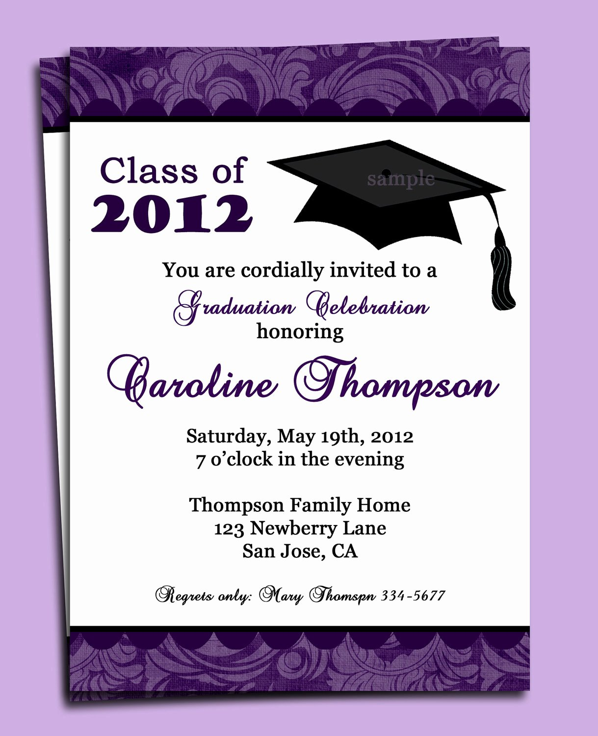 Free Printable Graduation Announcement Templates Lovely Graduation Party or Announcement Invitation Printable or