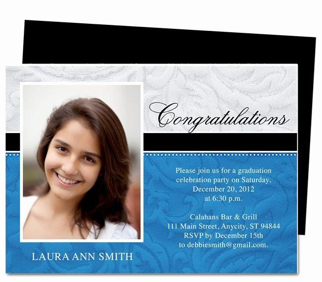 Free Printable Graduation Announcement Templates Luxury Graduation Announcements Flourish Printable Diy