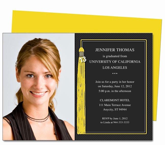 Free Printable Graduation Announcement Templates Luxury Graduation Announcements Tassle Printable Diy Graduation