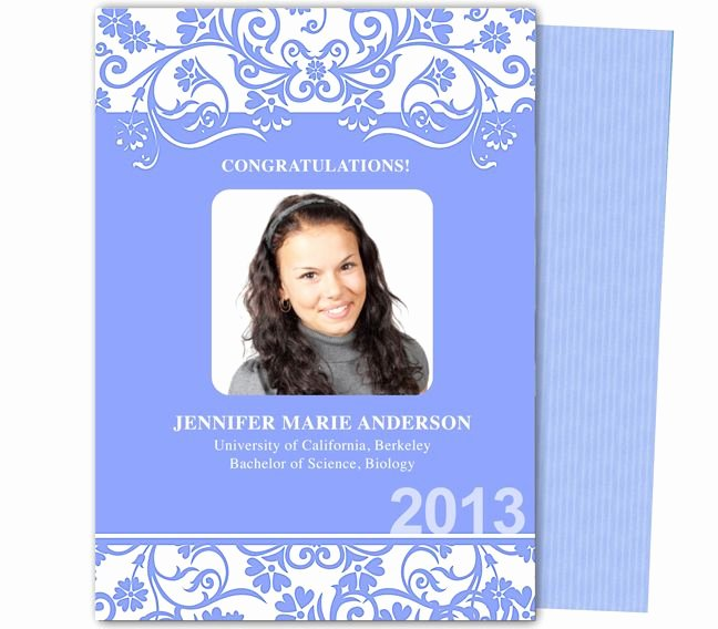 Free Printable Graduation Announcement Templates Unique Graduation Announcements Templates Printable Diy Dandy
