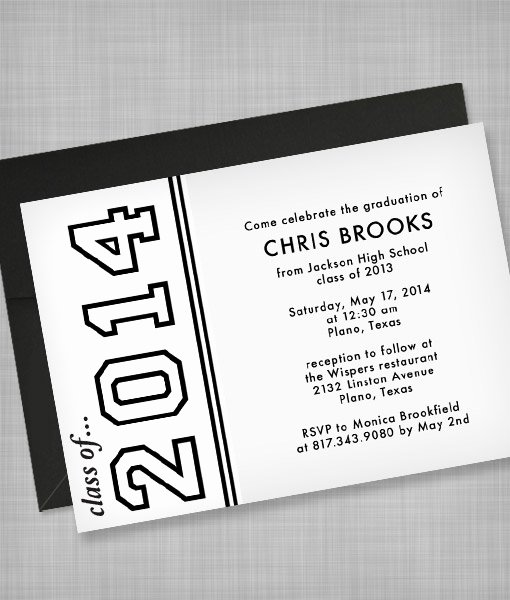 Free Printable Graduation Announcement Templates Unique High School Graduation Invitation Template – Download & Print