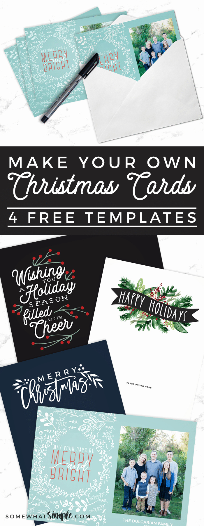 Free Printable Postcard Templates Unique Make Your Own Christmas Cards for Free somewhat