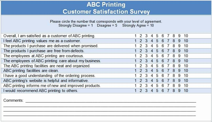 Free Printable Survey Template Best Of 6 Sample Survey Templates Excel Pdf formats