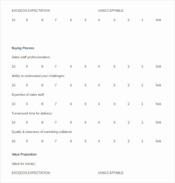 Free Printable Survey Template New 50 Printable Survey Templates