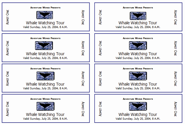Free Printable Tickets Template Awesome 10 Free event Ticket Templates for Word and Adobe