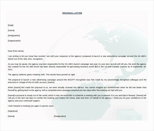 Free Proposal Templates for Word Inspirational 38 Free Proposal Templates Word Pages Pdf Google