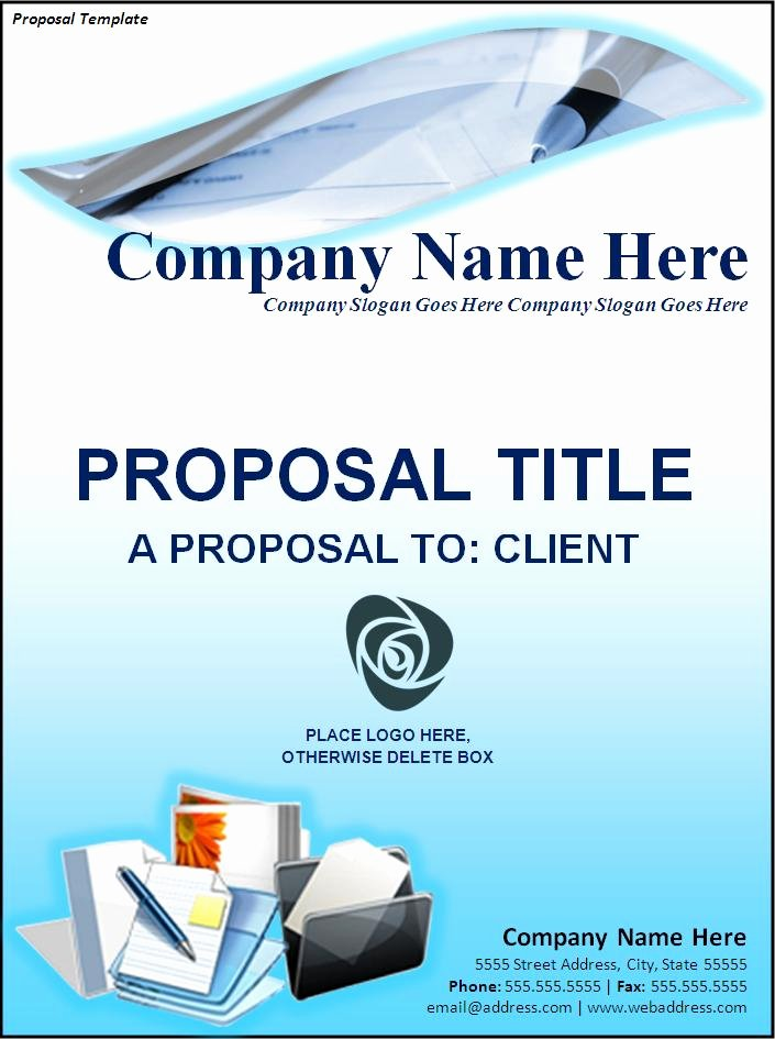 Free Proposal Templates for Word Inspirational Free Proposal Template