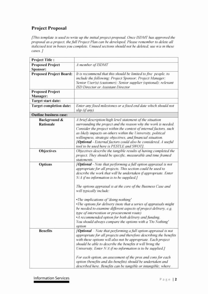Free Proposal Templates for Word New 21 Free Word Proposal Templates In Word Excel Pdf