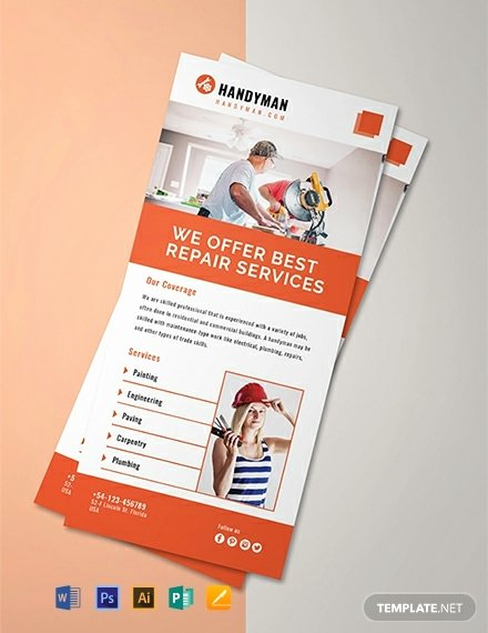 Free Rack Card Template Beautiful 60 Free Rack Card Templates [download Ready Made Samples