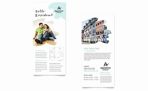 Free Rack Card Template Beautiful Free Rack Card Templates