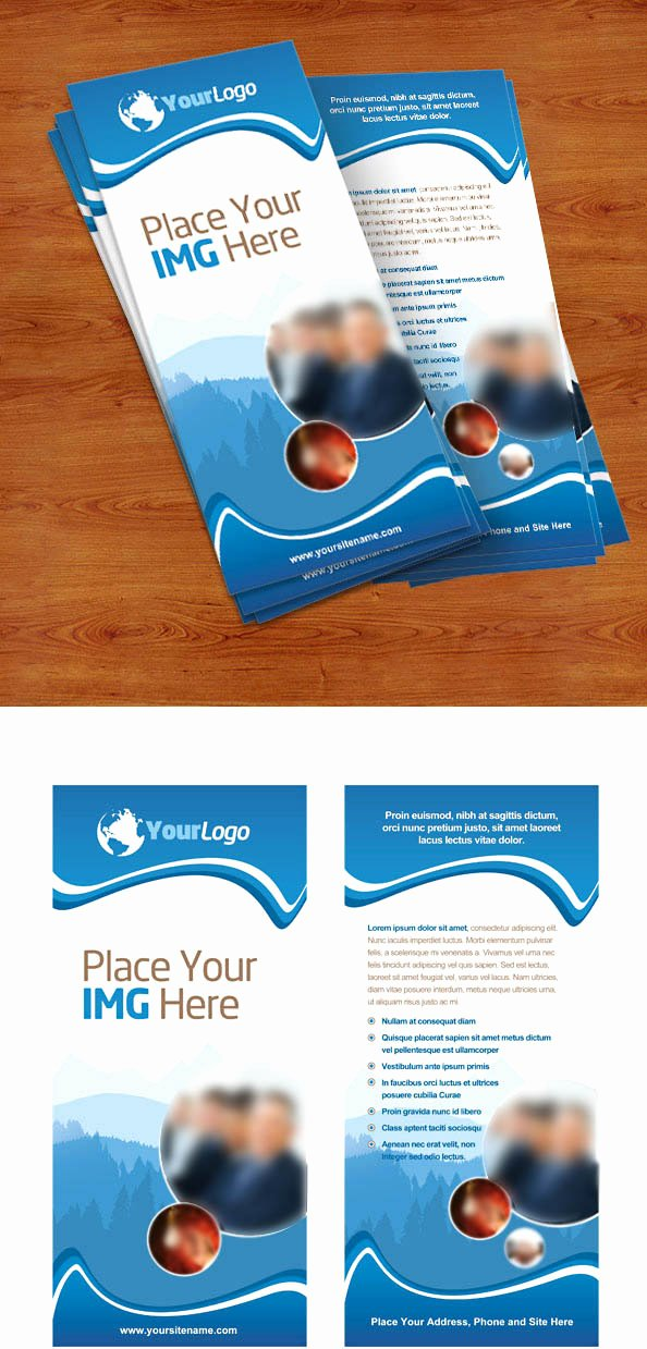 Free Rack Card Template Fresh Rack Card Psd Template Free Psd Files