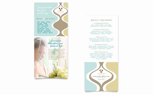 Free Rack Card Template Lovely Free Rack Card Template Microsoft Word & Publisher