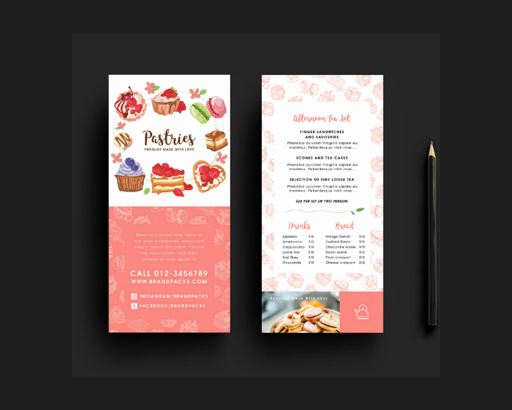 Free Rack Card Template Luxury 39 Free Rack Card Templates Psd Ai Word Indesign