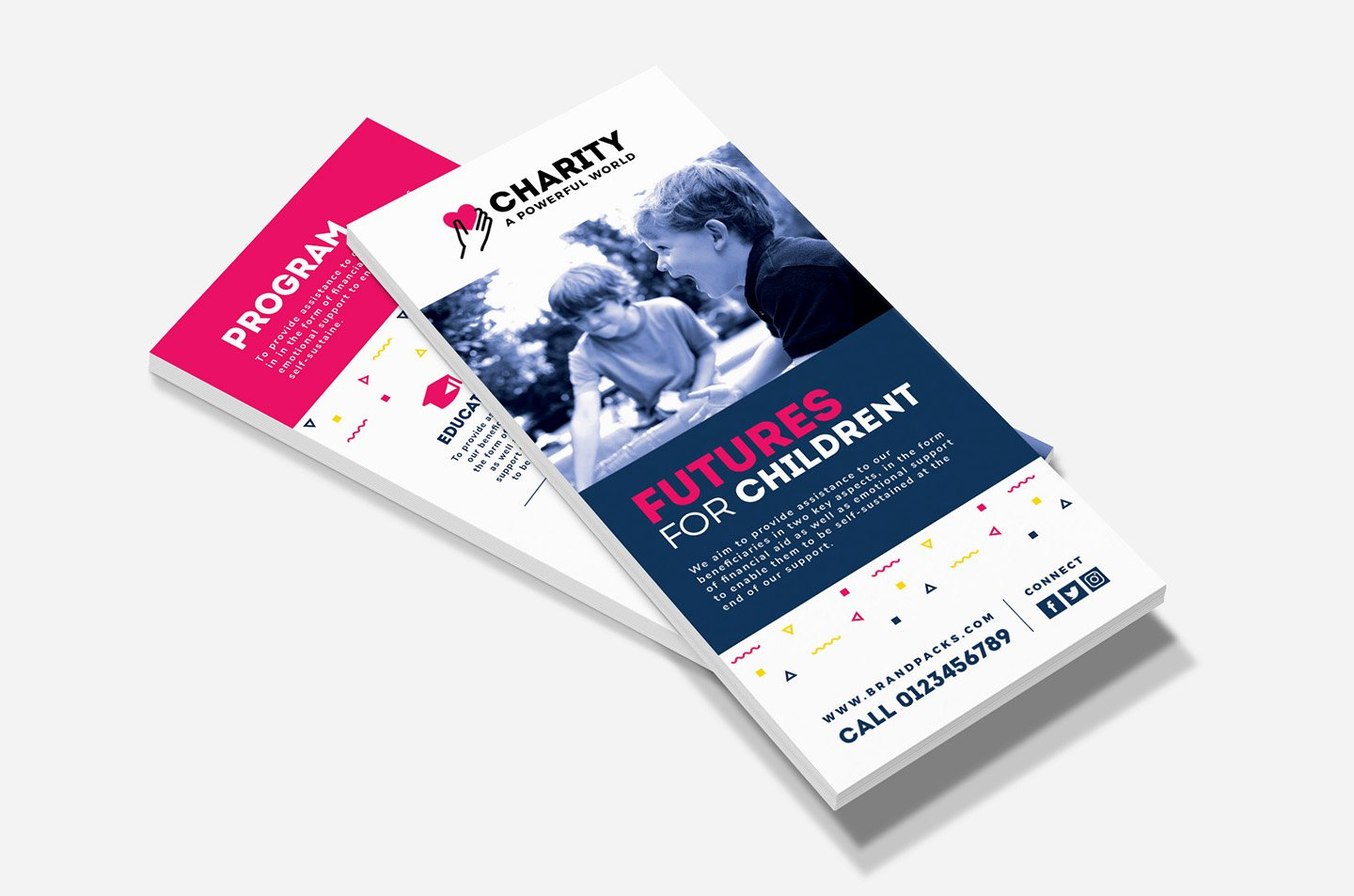 Free Rack Card Templates Beautiful Free Charity Rack Card Template for Shop