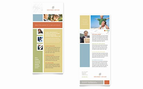 Free Rack Card Templates Best Of Free Rack Card Template Microsoft Word & Publisher