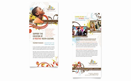 Free Rack Card Templates Inspirational Free Rack Card Template Microsoft Word & Publisher