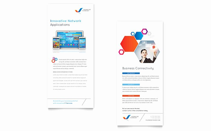 Free Rack Card Templates Lovely Free Rack Card Template Download Free Ready Made Designs