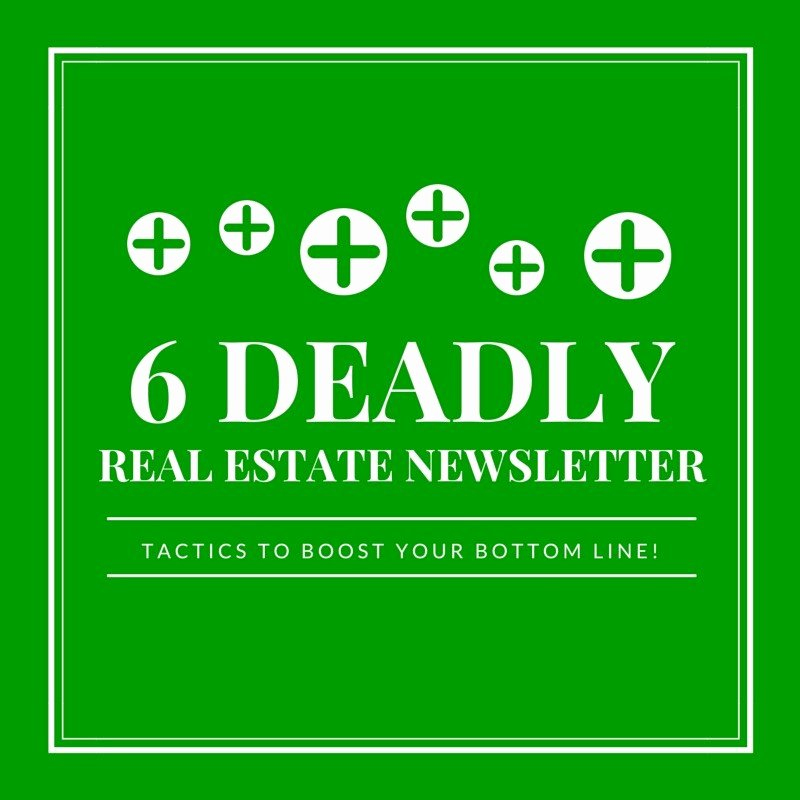 Free Real Estate Newsletter Templates Awesome 6 Deadly Real Estate Newsletter Tactics You Can Use to Boost