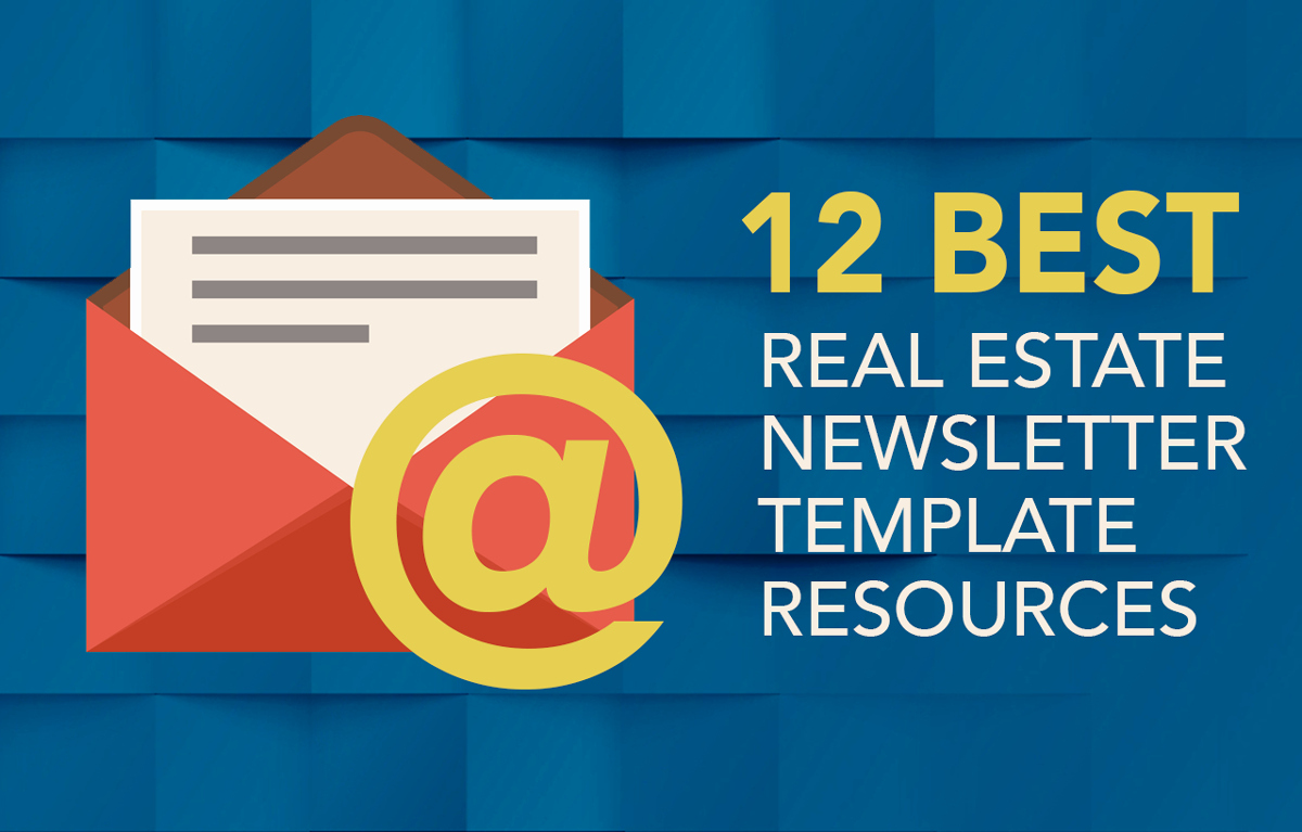Free Real Estate Newsletter Templates Best Of 12 Best Real Estate Newsletter Template Resources