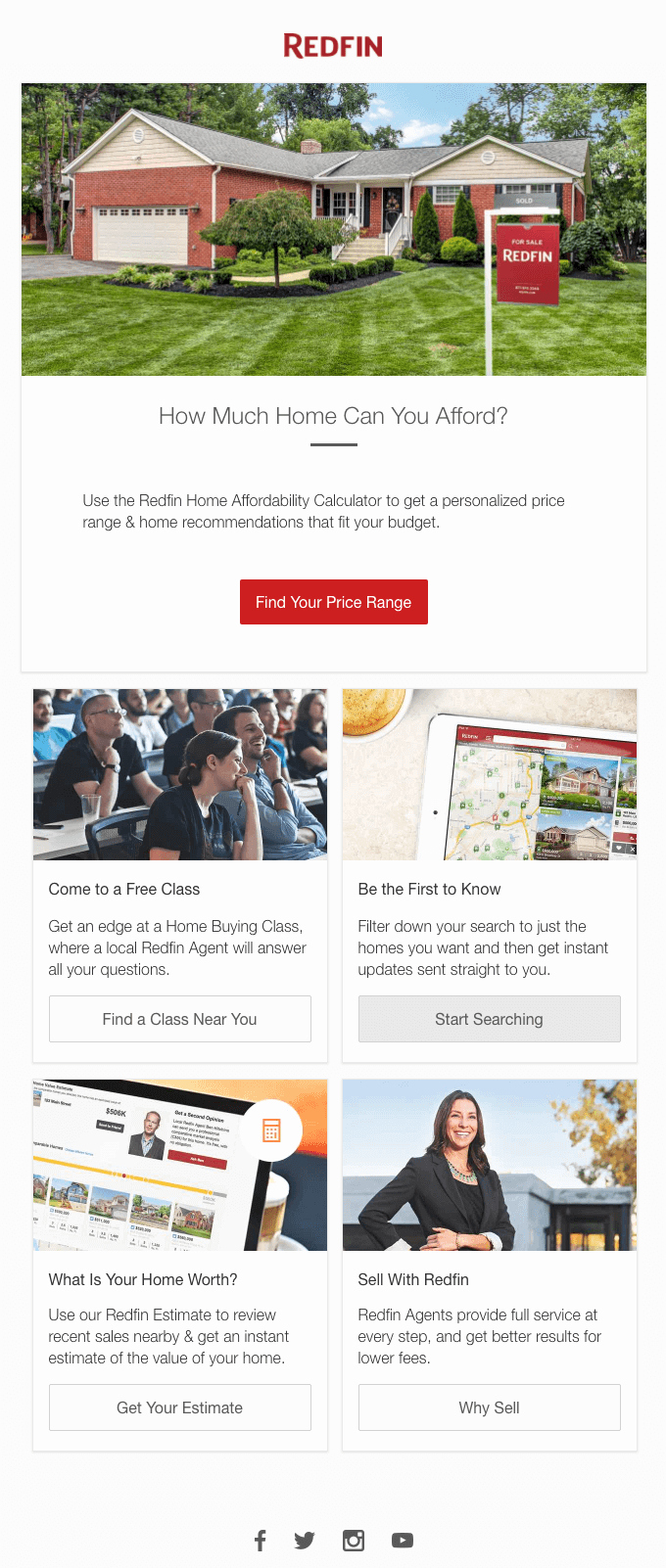Free Real Estate Newsletter Templates Lovely 10 Well Done Real Estate Email Newsletter Examples