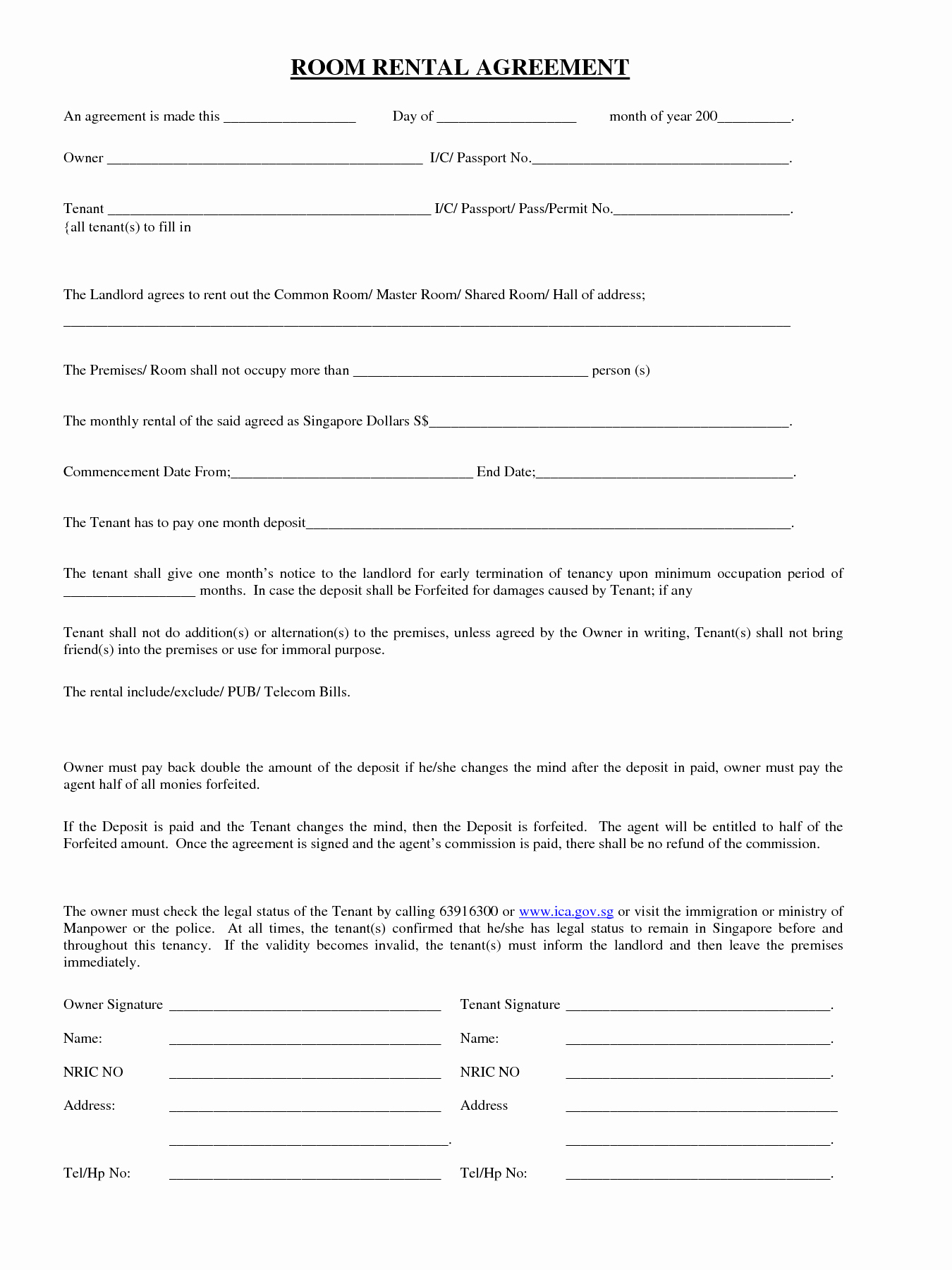 Free Room Rental Agreement Template Unique Pin by Vanessa Melendez On Vanessa In 2019