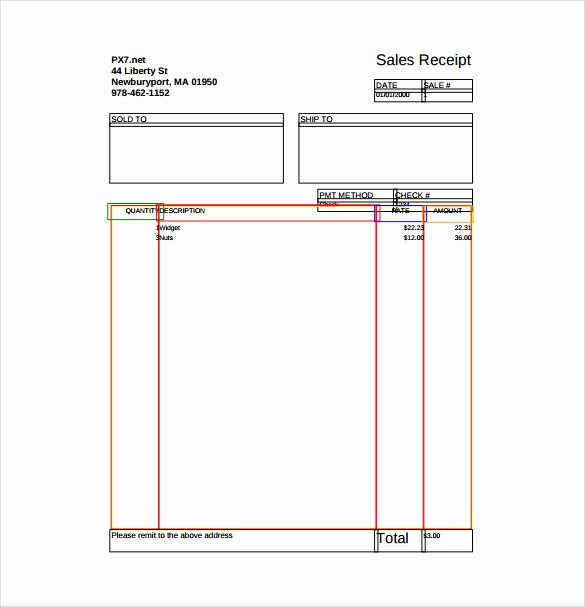 Free Sale Receipt Template Best Of Sample Sales Receipt Template 10 Free Documents In Word