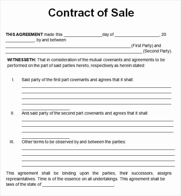 Free Sales Agreement Template Awesome top 5 Resources to Get Free Sales Contract Templates