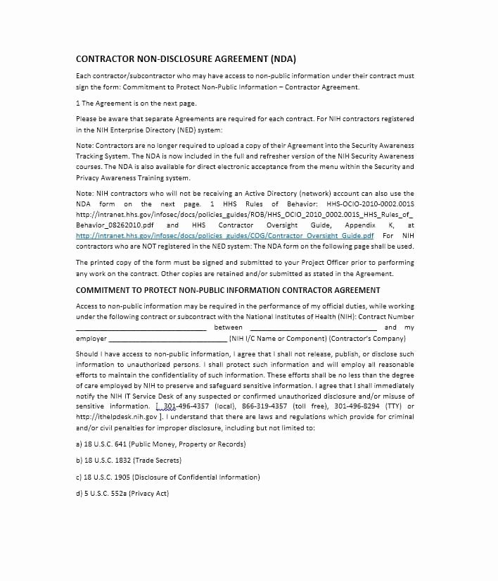 Free Subcontractor Agreement Template Awesome Need A Subcontractor Agreement 39 Free Templates Here