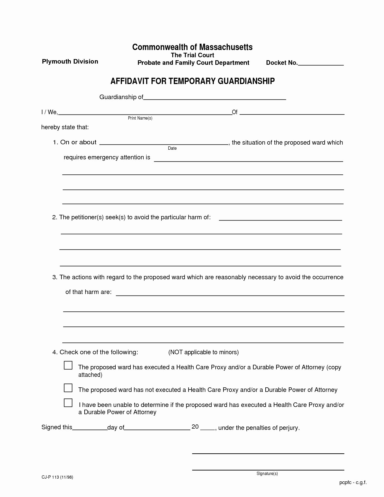 Free Temporary Guardianship form Template Awesome Legal Temporary Child Custody Agreement form Id