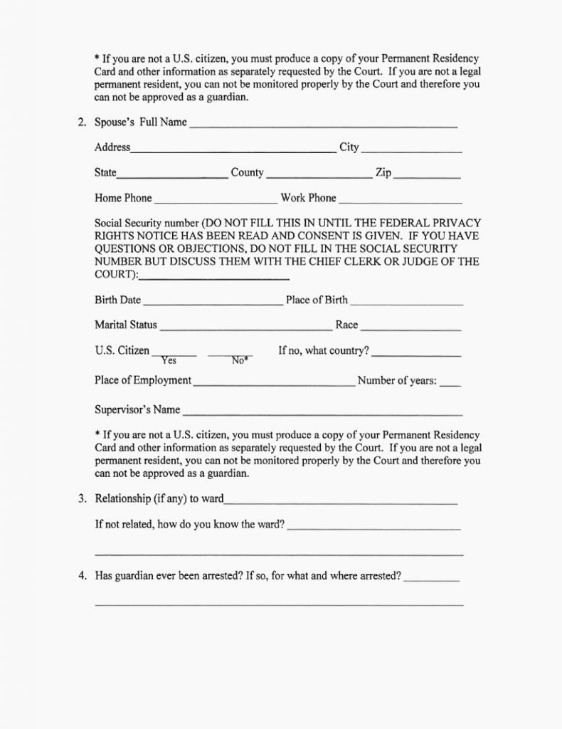 Free Temporary Guardianship form Template Inspirational Legal Guardianship forms Free Printable Temporary form