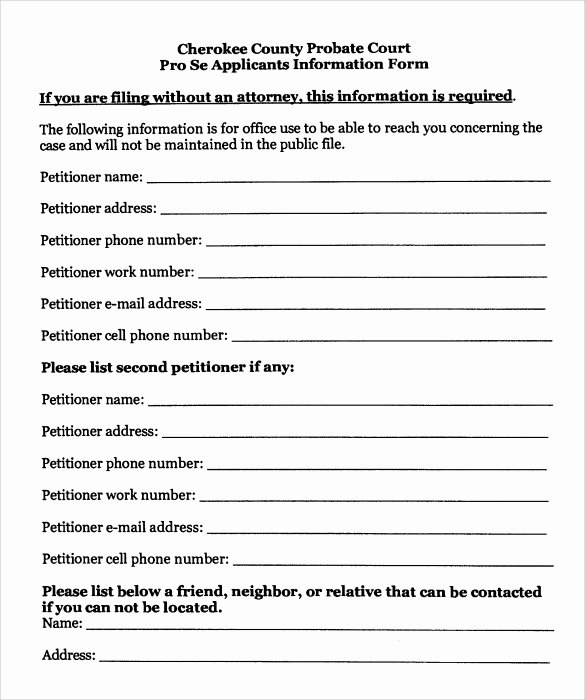Free Temporary Guardianship form Template Inspirational Sample Temporary Guardianship form 8 Download Documents