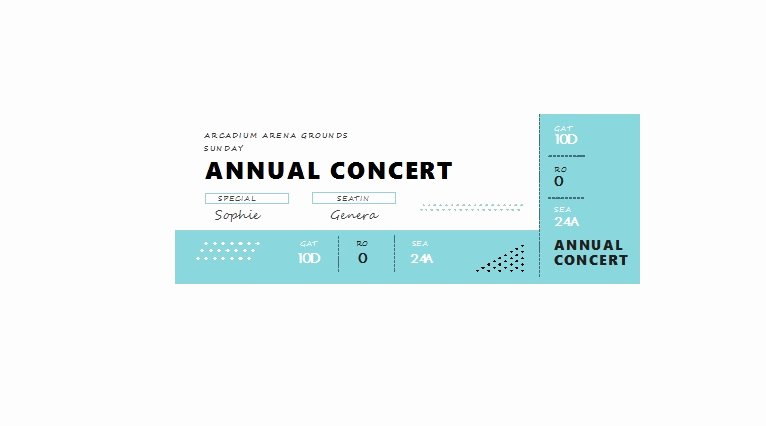 Free Ticket Template Word Awesome 22 Free event Ticket Templates Ms Word Template Lab