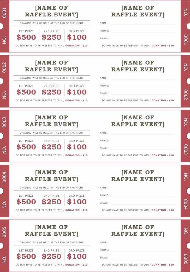 Free Ticket Template Word Best Of Ticket Templates