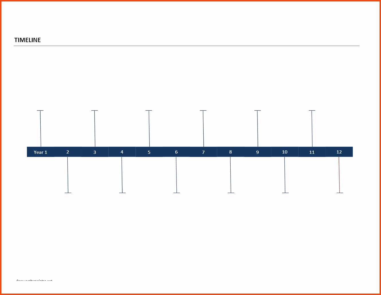 Free Timeline Template Word Fresh 26 Of Chronology Template In Word