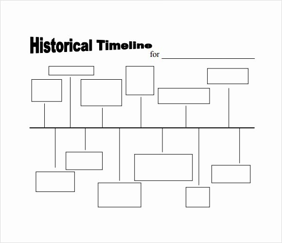Free Timeline Template Word Inspirational 6 Sample Timelines for Kids Pdf Word