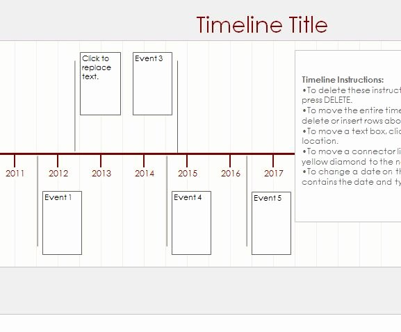 Free Timeline Template Word Inspirational Free Ms Word Timeline Template the Best Free software