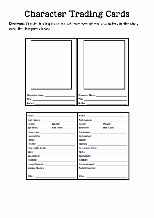 Free Trading Card Template Awesome 2 Trading Card Templates Free to In Pdf