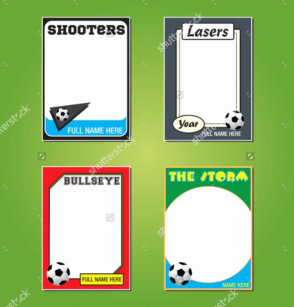 Free Trading Card Template Beautiful 33 Trading Card Template Word Pdf Psd Eps