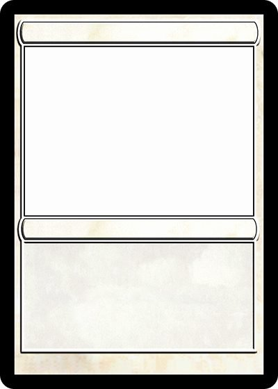 Free Trading Card Template Fresh Magic Trading Card Template