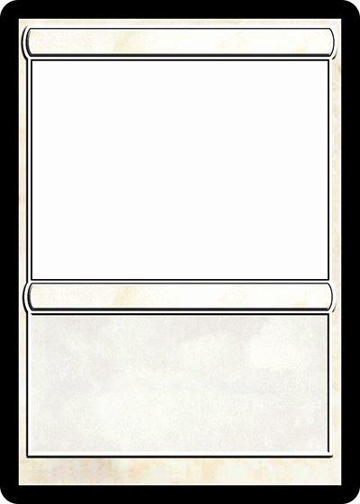 Free Trading Card Template Fresh Magic Trading Card Template