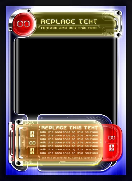 Free Trading Card Template Fresh Trading Card Game Template Free Download Printable