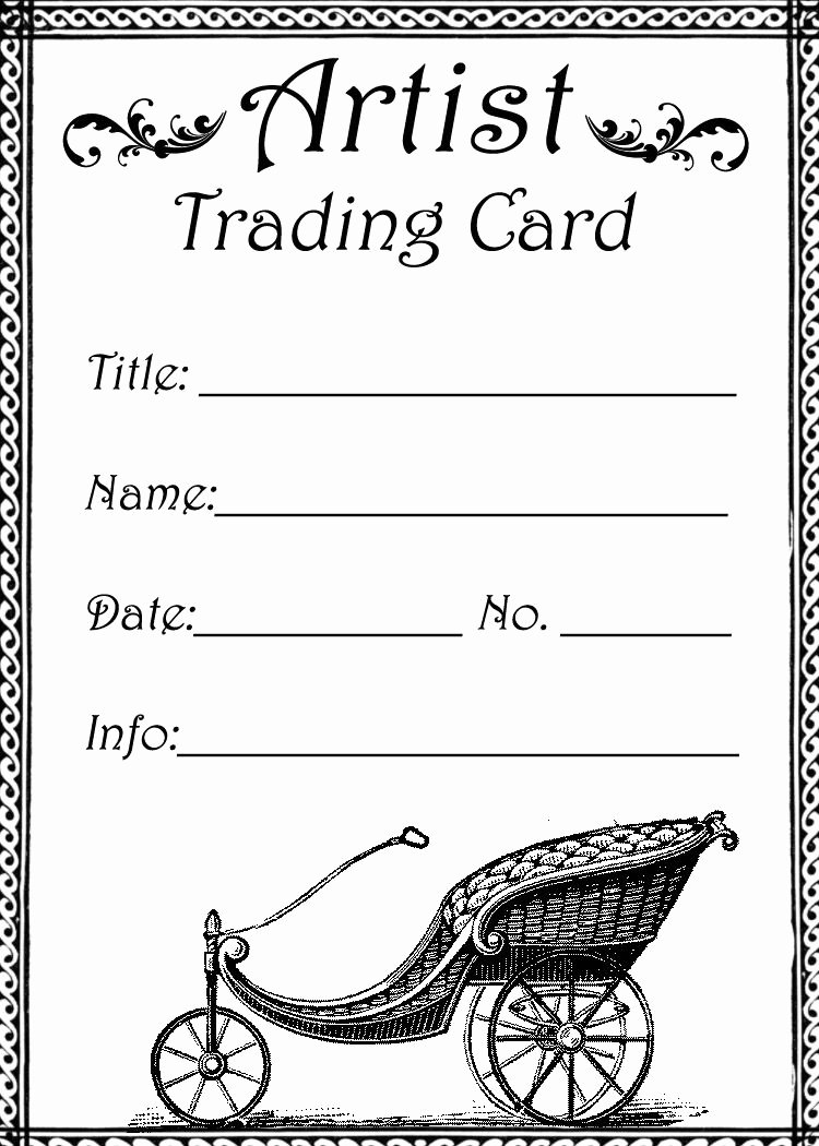 Free Trading Card Template Inspirational atc Trading Card Template 001