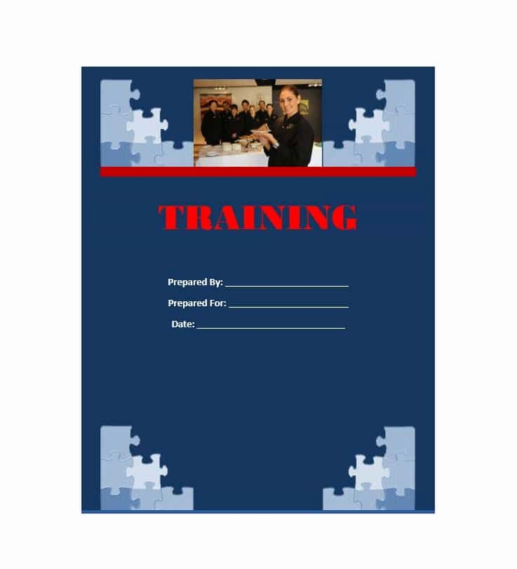 Free Training Manual Template Awesome Training Manual 40 Free Templates & Examples In Ms Word