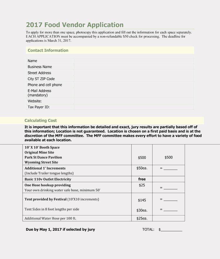 Free Vendor Application form Template Unique 9 Printable Blank Vendor Registration form Templates for