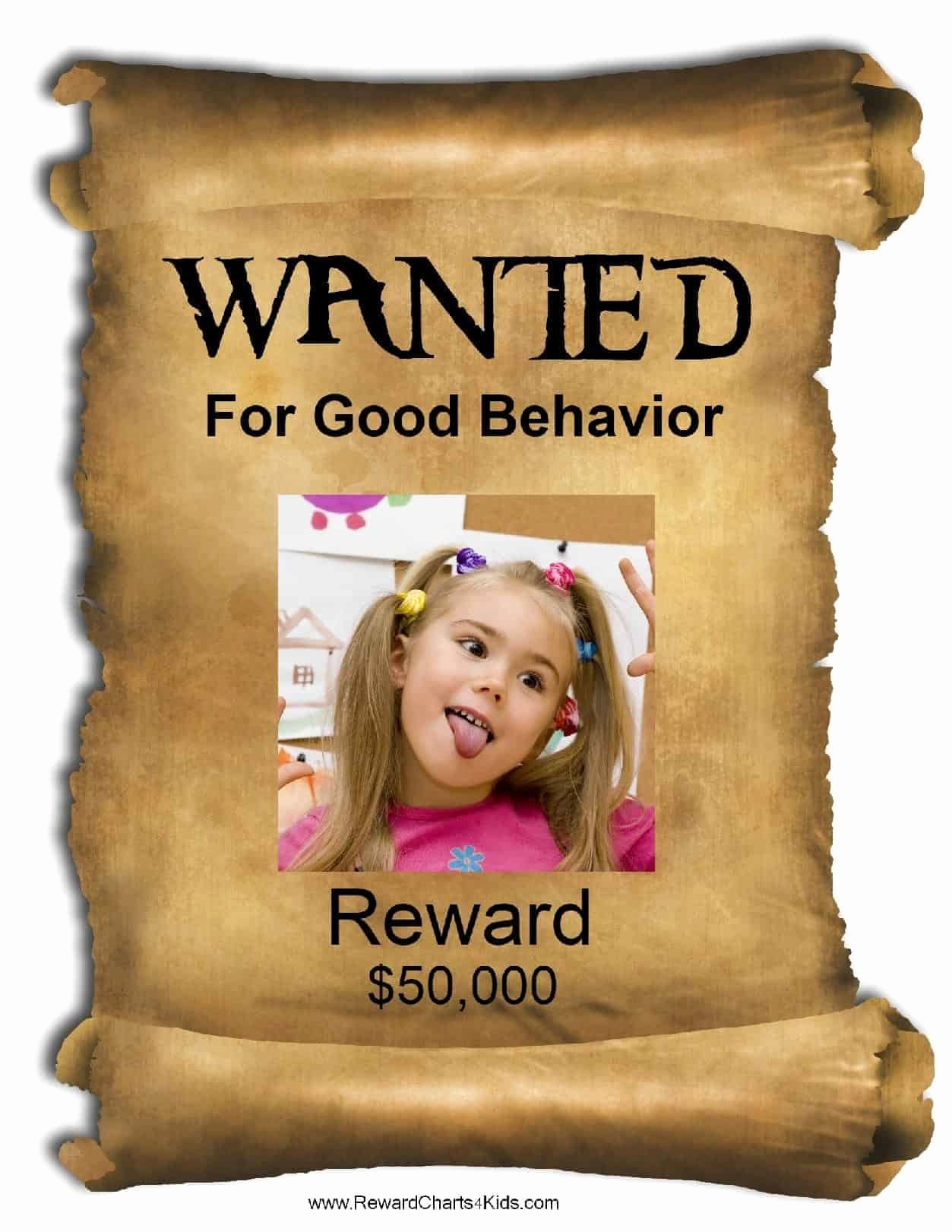Free Wanted Poster Template Printable Best Of Free Printable Wanted Poster Template