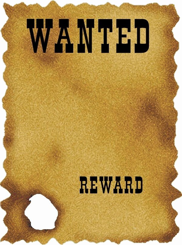 Free Wanted Poster Template Printable Best Of Western Wanted Poster Template Free