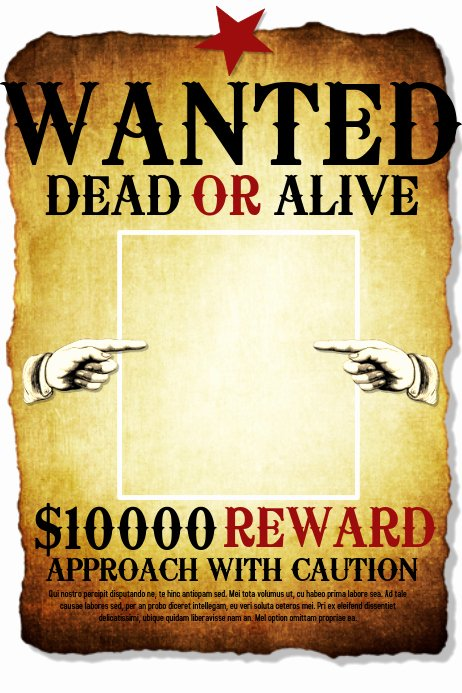 Free Wanted Poster Template Printable New Wanted Template