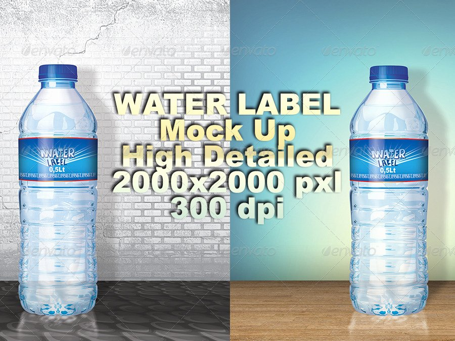 Free Water Bottle Label Template Beautiful 53 Label Design Templates